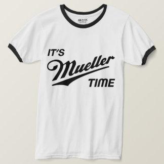 Camiseta É trunfo do tempo de Mueller anti