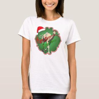 Camiseta É um Natal do dia de corcunda