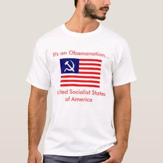 Camiseta É um Obamanation… USSA