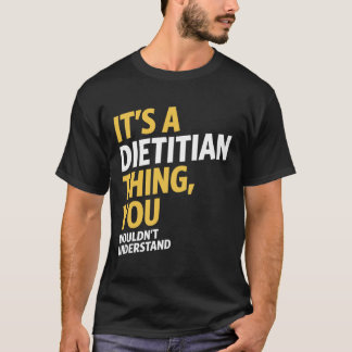 Camiseta É uma coisa da dietista