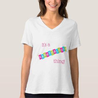Camiseta É uma coisa de Nannypalooza! T