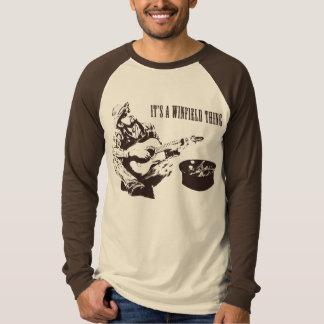 Camiseta É uma coisa de Winfield