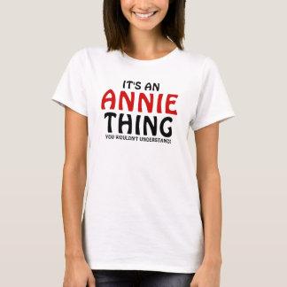 Camiseta É uma coisa que de Annie você não compreenderia