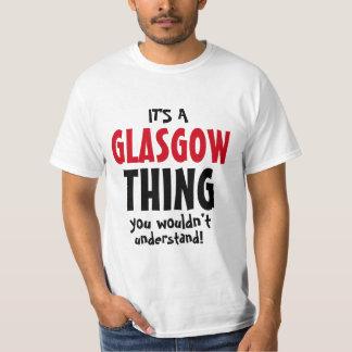 Camiseta É uma coisa que de Glasgow você não compreenderia