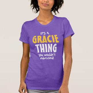 Camiseta É uma coisa que de Gracie você não compreenderia