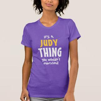 Camiseta É uma coisa que de Judy você não compreenderia