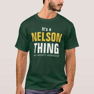 Camiseta É uma coisa que de Nelson você não compreenderia