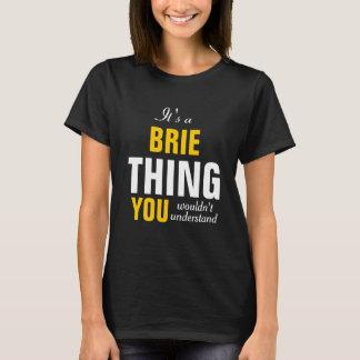 Camiseta É uma coisa que do brie você não compreenderia