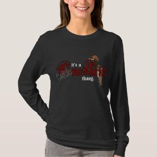 Camiseta É uma vaqueira celta Thang