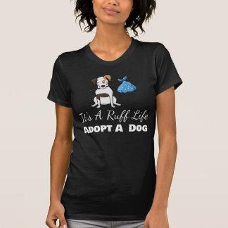 Camiseta É uma vida do pavão-do-mar - ADOTE um Tshirt do