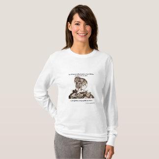 Camiseta É vestida na beleza com o t-shirt do LS das