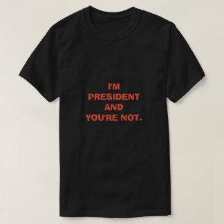 Camiseta E VOCÊ não é
