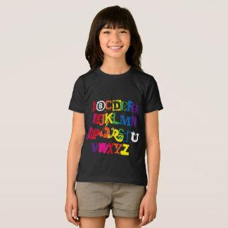 Camiseta É você tipografia engraçada do arco-íris do