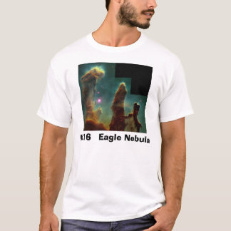 Camiseta eagle4Finished, nebulosa de M   16 Eagle