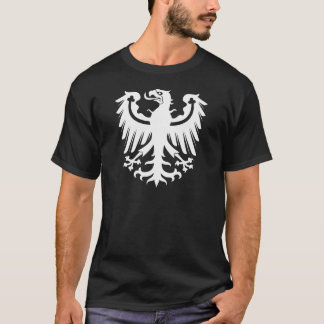 Camiseta Eagle branco prussiano do leste