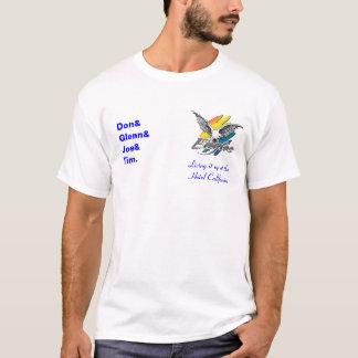 Camiseta Eagles-logotipo, vivendo ele acima no hotel