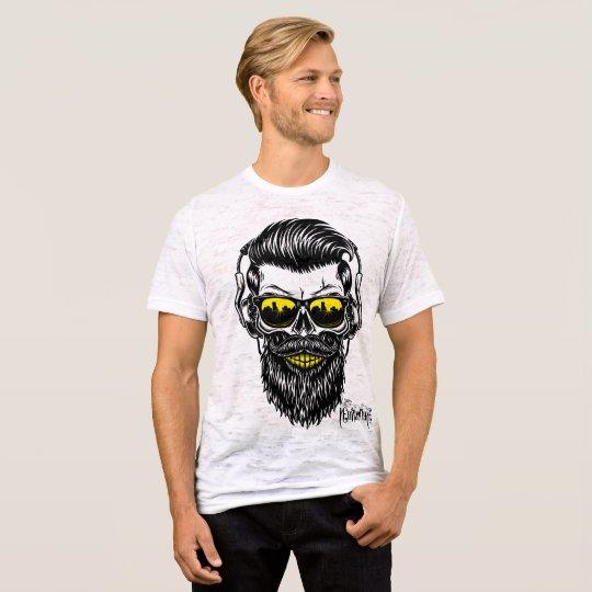 Camiseta Earphone Skull