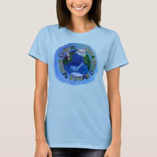 Camiseta EarthDay- nossas escolhas, seu futuro