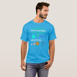 Camiseta Earther liso - somente jogo em uma superfície