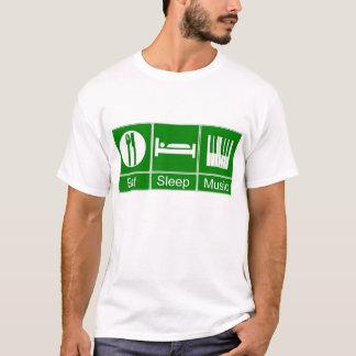 Camiseta EatSleepMusic