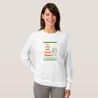 Camiseta Ebook do design da jardinagem vegetal em