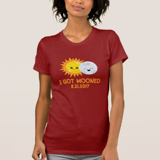 Camiseta Eclipse solar engraçado   que eu obtive Mooned