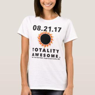 """Camiseta Eclipse solar total da """"camiseta impressionante"""