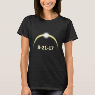Camiseta Eclipse solar total de incandescência 2017 da