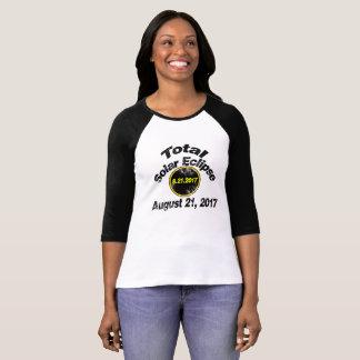 Camiseta Eclipse solar total do vintage
