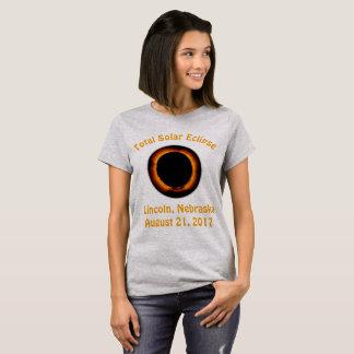 Camiseta Eclipse solar total (Lincoln, Nebraska)