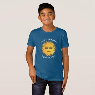 Camiseta Eclipse solar total - t-shirt orgânico