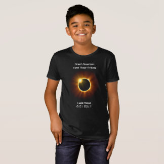 Camiseta Eclipse solar total - t-shirt orgânico