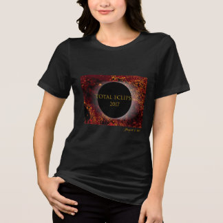 Camiseta Eclipse total 2017 - fora das mulheres deste SC do