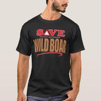 Camiseta Economias do javali