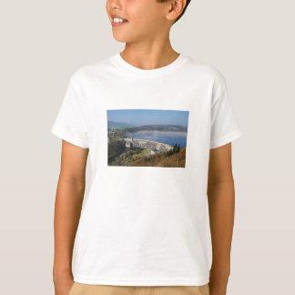 Camiseta Edersee Staumauer com névoa