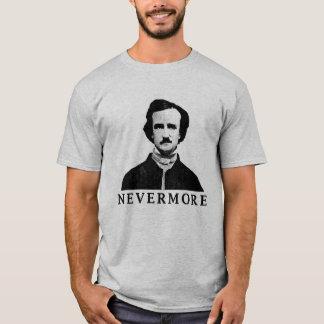 Camiseta Edgar Allan Poe - nunca mais