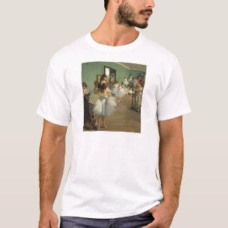 Camiseta Edgar Degas a classe de dança