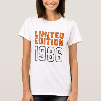 Camiseta Edição limitada 29 designs do aniversário