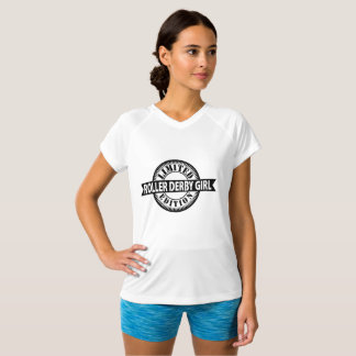Camiseta Edição limitada da menina de Derby do rolo, design