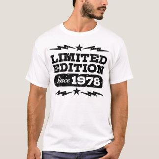 Camiseta Edição limitada desde 1978