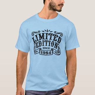 Camiseta Edição limitada desde 1984