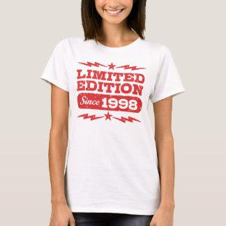 Camiseta Edição limitada desde 1998