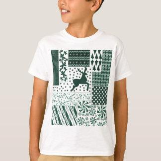 Camiseta Edredão do verde do Natal