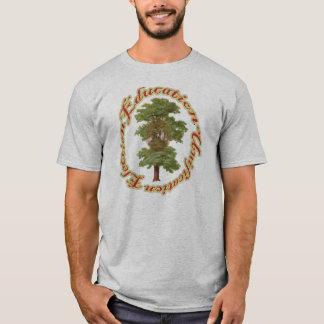 Camiseta Educação; unificação; eleição