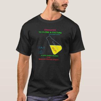 Camiseta Educado para clonar & cultivar
