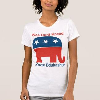 Camiseta Edukashun - o t-shirt das mulheres