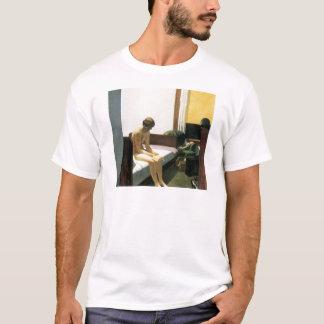 Camiseta Edward Hopper, sala de hotel, 1931