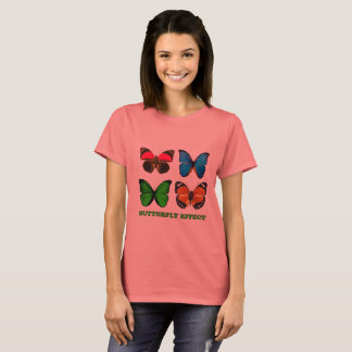 Camiseta Efeito de borboleta