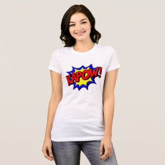 Camiseta Efeitos sadios de Kapow