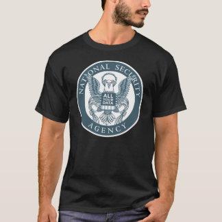 """Camiseta EFF: O NSA """"Eagle tem t-shirt de todos seus dados"""""""